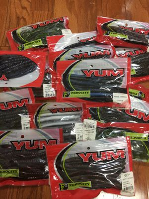 Fishing lures, bait, worms freshwater YUM for Sale in Fairfax, VA