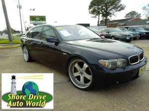2003 BMW 7 Series for Sale in Virginia Beach, VA