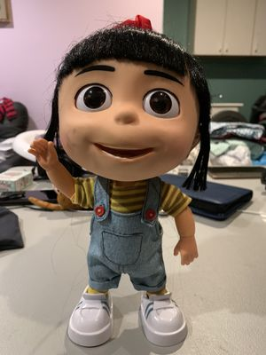 Despicable Me 2 Talking Agnes Doll Figure Collector Edition for Sale in Staten Island, NY
