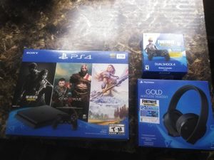 New PS4 fortnite bundle. Will sell separate... for Sale in Sacramento, CA