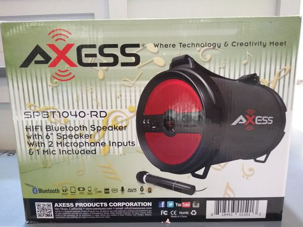 Axess HIFI Bluetooth Speaker