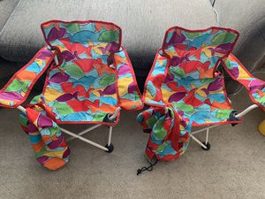 Kid's fold up chairs for Sale in Waipahu, HI