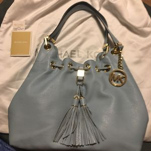 Michael Kors Original Leather Tote/Purse for Sale in Pittsburgh, PA
