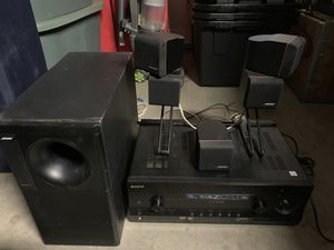 Bose surround with sony 3D receiver for Sale in Bonita, CA