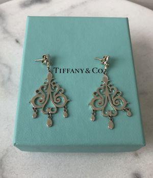 Tiffany Vintage Chandelier Dangle Earrings for Sale in Brooklyn, NY