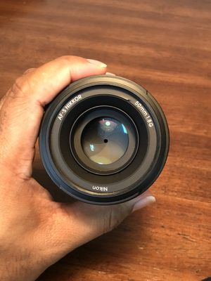 Nikon Nikkor 50mm f1/8 Lens for Sale in Fairlawn, OH