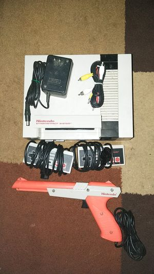 Nintendo System with 3 controllers and cords for Sale in Cleveland, OH