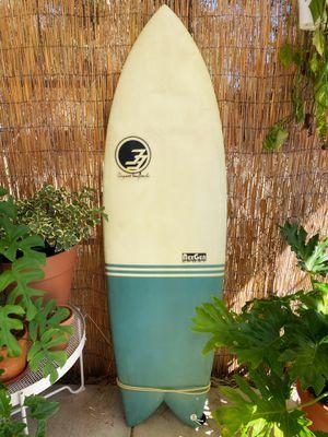 Retro fish surfboard - Degree 33 - 5'8 - used for Sale in Ramona, CA