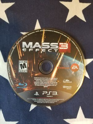 Mass Effect 3 (PS3) for Sale in US