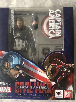 Captain America SHFiguarts for Sale in Gainesville,  VA