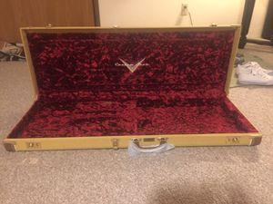Fender strat guitar hard case custom for Sale in Appleton, WI
