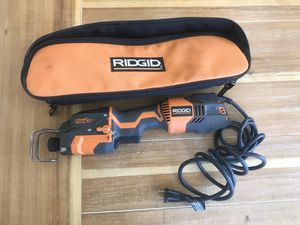 Ridgid corded reciprocating saw for Sale in Alpine, CA
