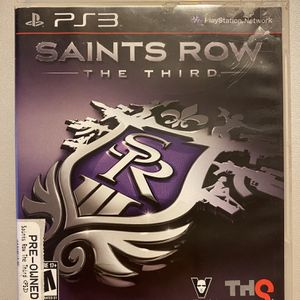 Saints Row The Third: (Playstation 3 PS3) for Sale in Spartanburg, SC