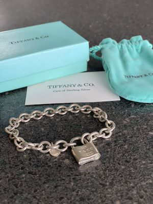 Tiffany & Co. Sterling silver 1837 locket bracelet for Sale in Costa Mesa, CA