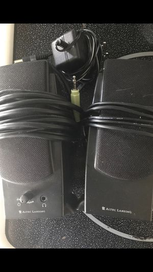 ACS48 computer subwoofer and desktop computer speakers for Sale in Lakeland, FL