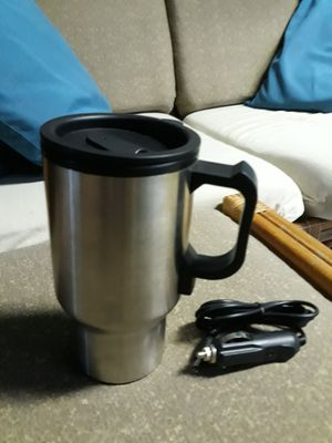 NEW coffee mug with car charger warmer for Sale in Waianae, HI