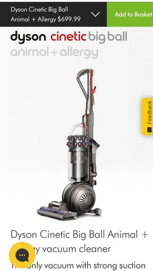 Dyson cinetic big ball vacuum for Sale in City of Industry, CA