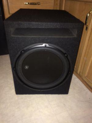 12 JL Audio w3v3-2 subwoofer for Sale in El Cajon, CA