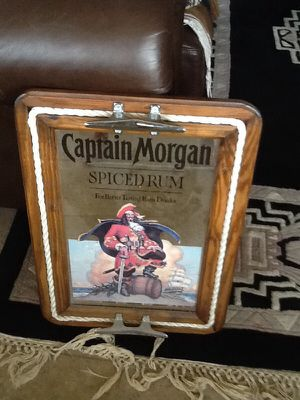 Captain Morgan antique mirror for Sale in Tempe, AZ