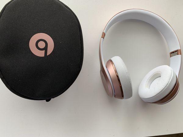 Dr. Dre Solo 3 Beats Headphones - Rose Gold