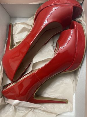 Red statement heels for Sale in Miami, FL
