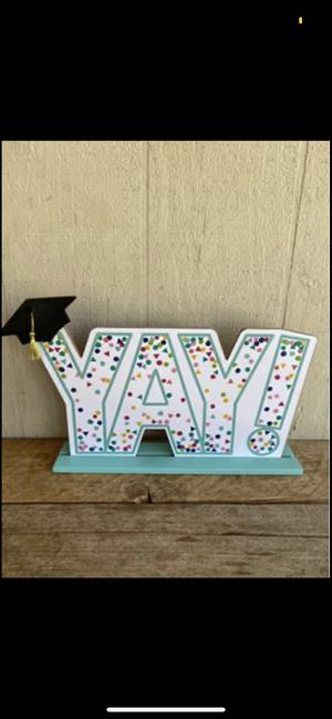 """Graduation """"YAY"""" Sign for Sale in Clovis, CA"""