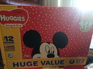 Huggies diapers size 4 for Sale in Nashville, TN