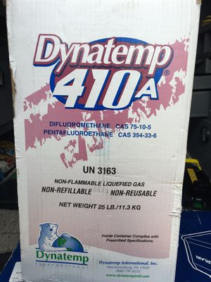 410a Freon (NEW!!!) for Sale in Griffin, GA