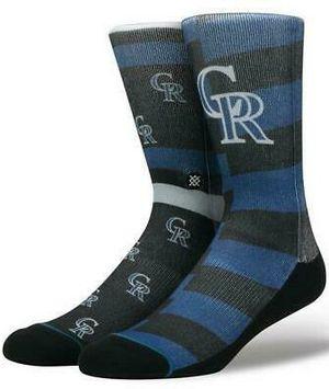 Colorado Rockies Splatter Stance Socks for Sale in Chula Vista, CA