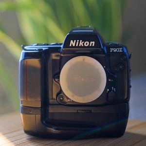 Nikon F90X film SLR camera w MB10 Motor Drive for Sale in Los Angeles, CA