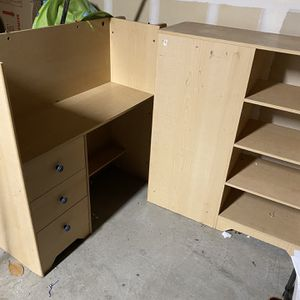 Shelf, Was Attached To A Bed, Can Be Used As Desk for Sale in San Diego, CA