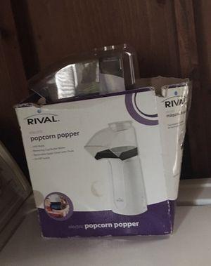 Rival Electric Popcorn Popper (white) for Sale in Elberton, GA