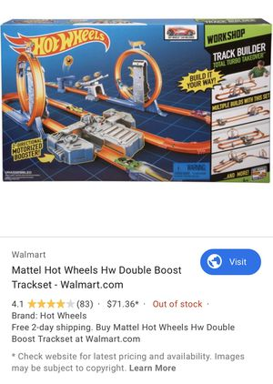 Hot Wheels Workshop Total Turbo Takeover motorized track set for Sale in Silver Spring, MD