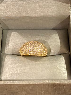 18K Gold plated Gorgeous Ring- Sparkling ✨ Code B564 for Sale in Houston, TX