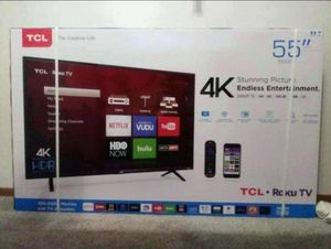 "55"" TCL 55S403 4K UHD HDR ROKU SMART TV 2160P (FREE DELIVERY) for Sale in Joint Base Lewis-McChord, WA"