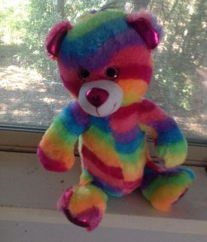 Rainbow bear plushy for Sale in Oak Point, TX