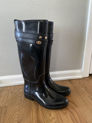 Coach Rain Boots size 7 for Sale in Parker, CO
