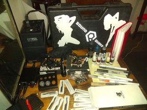 Solong pro tattoo kit for Sale in Tacoma, WA