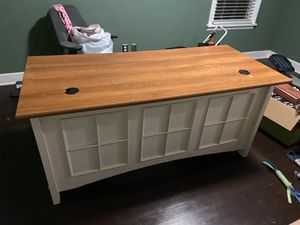 Large white desk for Sale in Seattle, WA