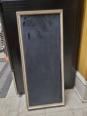 Primitive wall chalk board, made in Broadway Virginia for Sale in Timberville, VA
