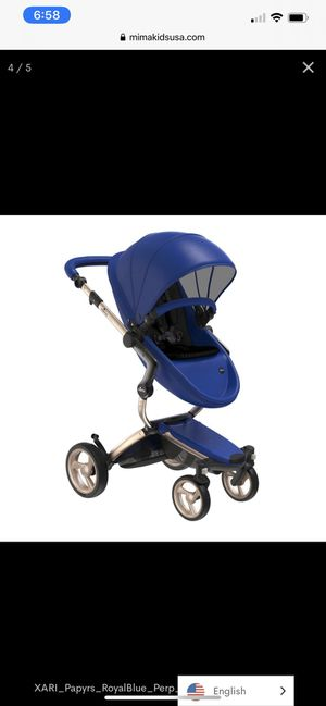 Mimi Xari baby stroller like new hardly used with box sold out for Sale in Chandler, AZ