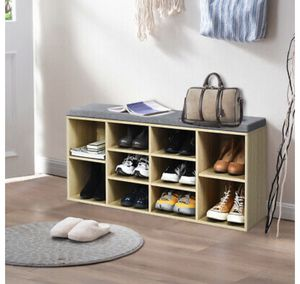 Shoe Storage Bench Organizer for Sale in Bakersfield, CA