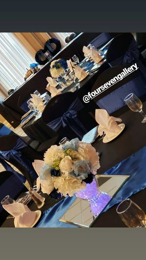 Royal Blue Chair Sashes and Runners for Sale in Marion, IL