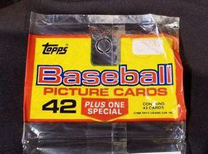 SEALED 1988 Topps UNOPENED Rack Pak Baseball Picture Cards for Sale in Gilbert, AZ