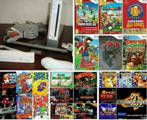 NINTENDO WII with Over 2000 GAMES WII SPORTS, MARIO KART, ANIMAL CROSSING, ZELDA, MARIO BROS. and More for Sale in San Diego, CA