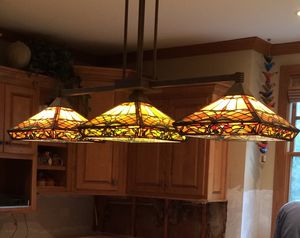 Tiffany Style Stained Glass Chandelier for Sale in Wichita, KS