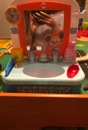 Fisher price play sink for Sale in Tolleson, AZ
