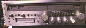 Vintage Zenith integrated amplifier, am/fm/8 track for Sale in St. Louis, MO