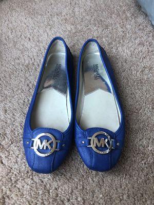 Michael Kors women's flats size 9 blue for Sale in Denver, CO