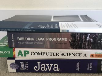 AP Computer Science Books for Sale in Seattle,  WA